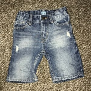 Baby gap toddler boy jean shorts 18-24 Months